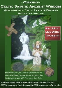 Celtic Saints workshop poster