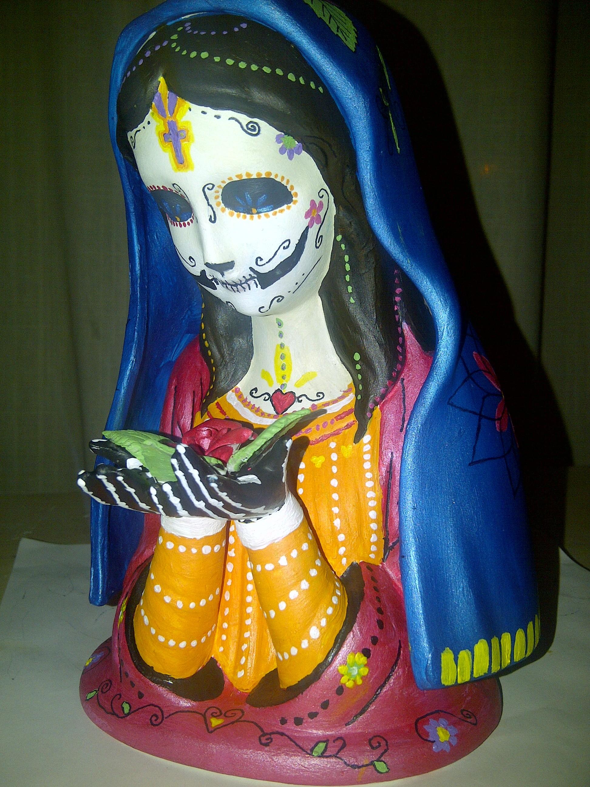 santa muerte statues nic phillips sacred art