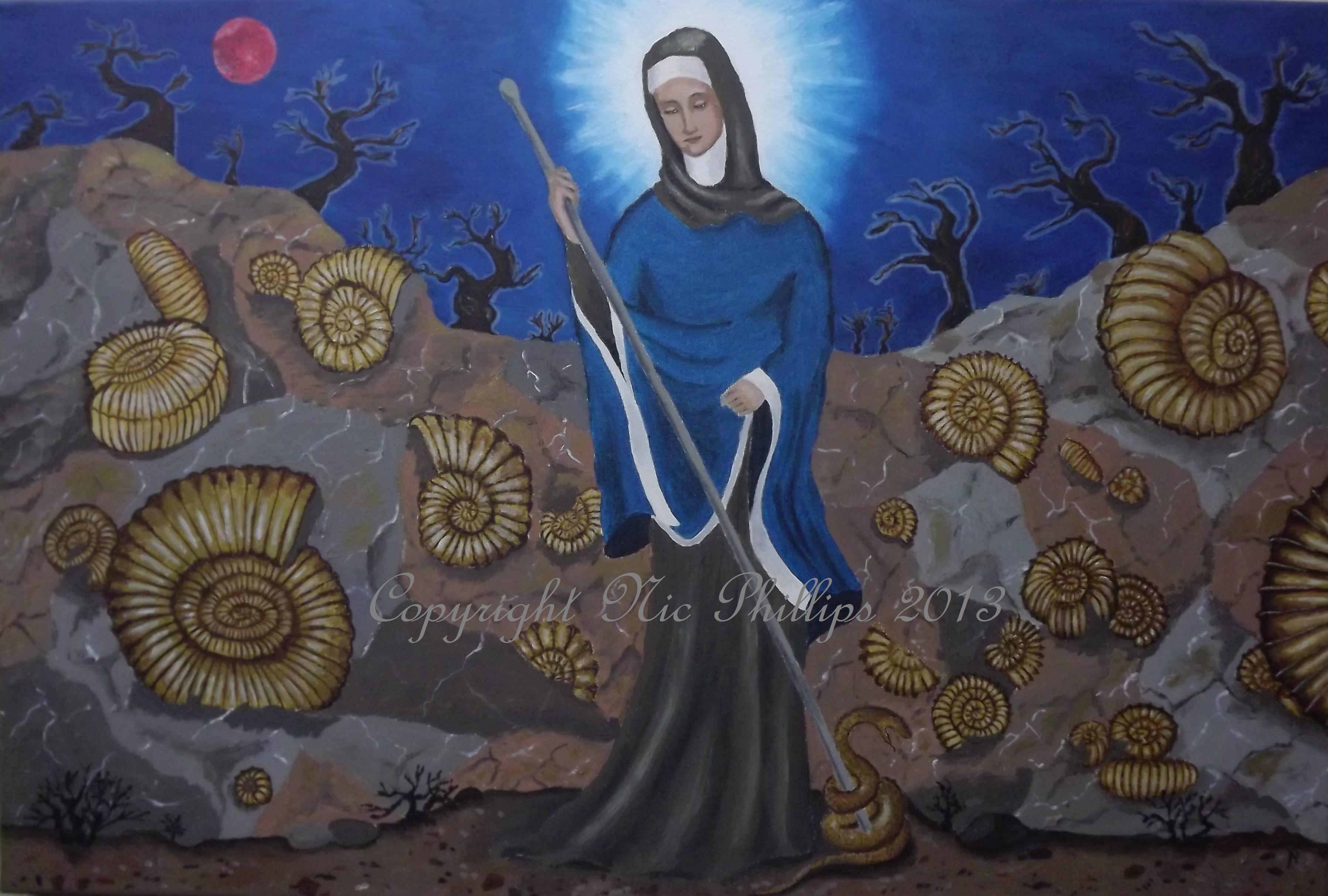 saint keyne nic phillips sacred art