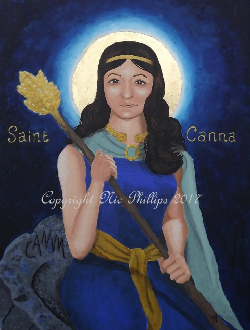 Saint Canna titled web