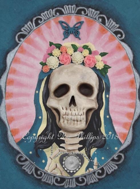 Santa Muerte cameo web